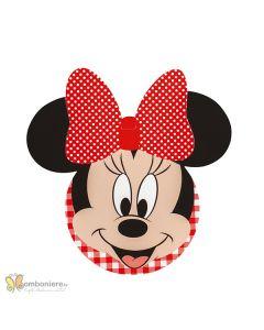 Decorazione Minnie party rosso