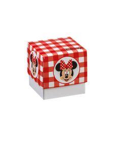 Portaconfetti Disney Party cubo piccolo con stampa Topolina
