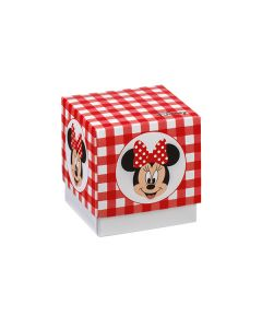 Scatola cubo medio portaconfetti Minnie party