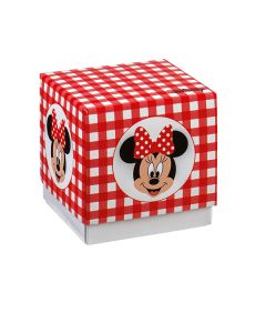 Scatola cubo grande portaconfetti Minnie party