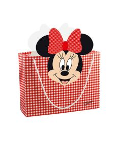 Shoppybag grande Minnie party rosso
