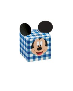 Cubo portaconfetti Mickey party