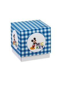 Portaconfetti Disney Party cubo grande con stampa Topolino
