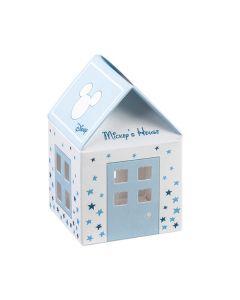 Astuccio portaconfetti casetta Disney Stars azzurro