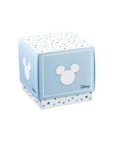 Portaconfetti Disney Stars cubo grande azzurro