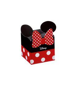 Portaconfetti cubo Disney con orecchie  e fiocco Topolina