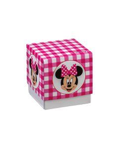 Cubo medio Portaconfetti Disney Party fucsia Topolina