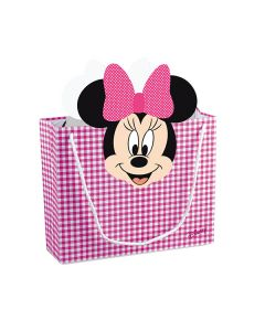 Shoppybag grande Minnie party fuxia
