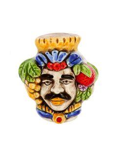 Bomboniera Nicarè magnete testa di moro uomo