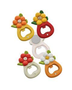 Bomboniere utili Magnete Apribottiglie fiore