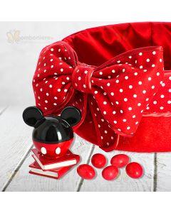 Bomboniera Mickey Disney su libri