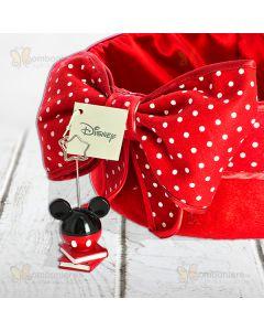 Bomboniera Mickey Disney memo clip su libri