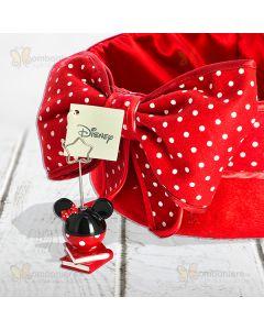 Bomboniera Minnie Disney memo clip su libri