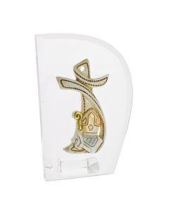 Bomboniera icona con croce cresima