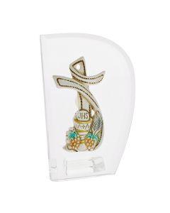 Bomboniera icona con croce comunione