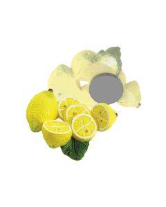 Bomboniera magnete limoni piccoli con foglie