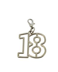 Accessorio ciondolo 18esimo con moschettone