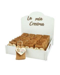 Kit bomboniere cresima con shopper e magnete completo di confetti