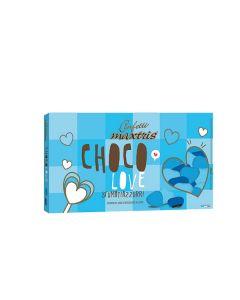 Cuoriandoli sfumati cioccolato cielo