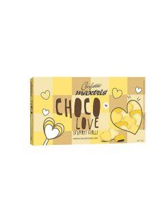 Cuoriandoli sfumati cioccolato giallo