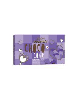 Cuoriandoli sfumati cioccolato lilla