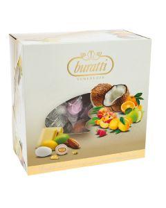 Dolce mix frutta tenerezze cioccomandorla incartati assortiti