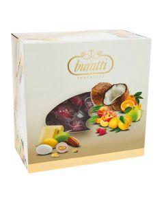 Dolce mix frutta tenerezze cioccomandorla incartati rosso