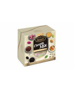 Confetti ciocomandorla incartata mix cream colorato