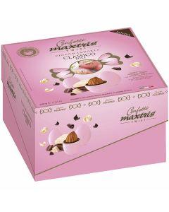 Confetti cioccomandorla incartati dolce arrivo twist rosa