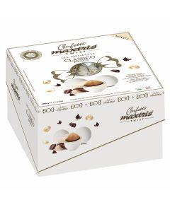 Confetti ciocconocciola incartati dolce arrivo twist bianco