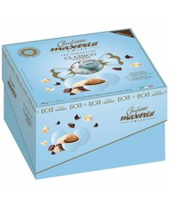 Confetti ciocconocciola incartati dolce arrivo twist cielo