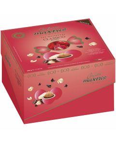 Confetti ciocconocciola incartati dolce arrivo twist rosso