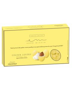 Confetti cioccomandorla Enzo Miccio nuance giallo delizia al limone