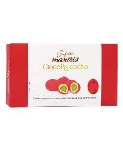 Confetti ciocopistacchio rosso