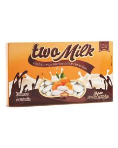 Confetti two milk bianco arancia