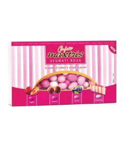 Cioccomandorla sfumati rosa gusti assortiti