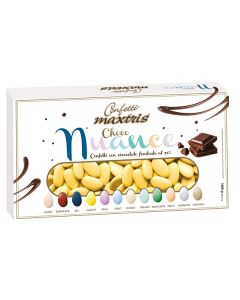 Confetti choco nuance giallo cioccolato fondente