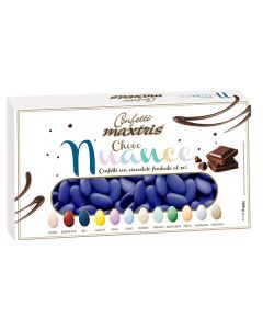 Confetti choco nuance blu cioccolato fondente